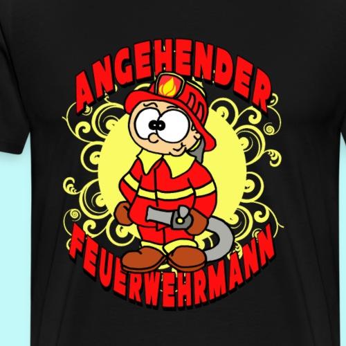 Angehender Feuerwehrmann - Männer Premium T-Shirt