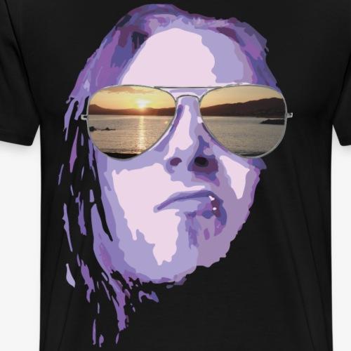 summerfeeling lila - Männer Premium T-Shirt