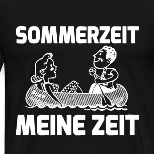 Sommerzeit - Meine Zeit - Männer Premium T-Shirt