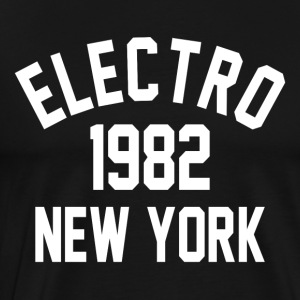 Electro 1982 New York - Premium-T-shirt herr