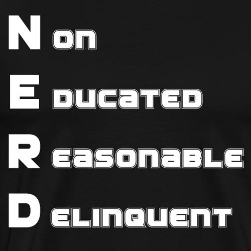 NERD - Men's Premium T-Shirt