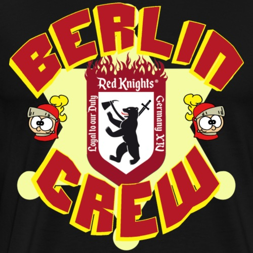 Red Knights - Berlin Crew - Männer Premium T-Shirt