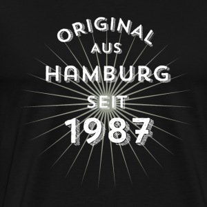 Original from Hamburg since 1987 - Men's Premium T-Shirt
