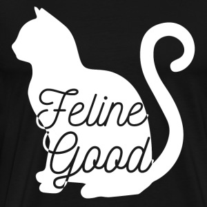 Cats: Feline Good - Men's Premium T-Shirt