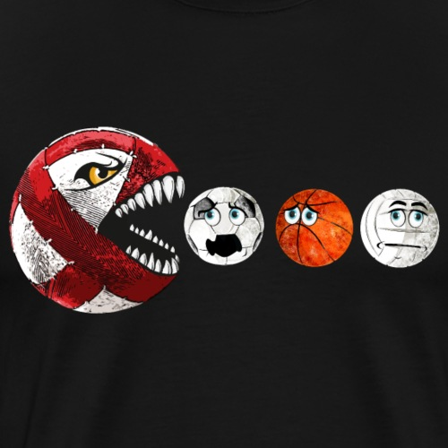 Radball | Cycle Ball RedMan - Männer Premium T-Shirt