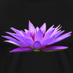 Lily - Nymphaea colorata - Men's Premium T-Shirt