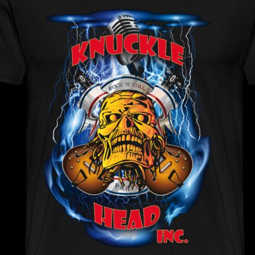 Knucklehead Hardrock Blau - Männer Premium T-Shirt