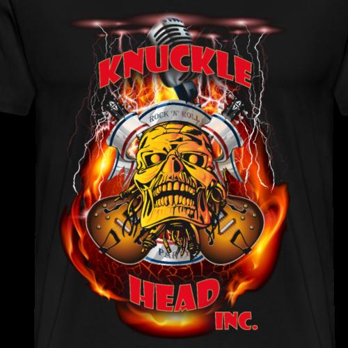 Knucklehead Hardrock red - Männer Premium T-Shirt
