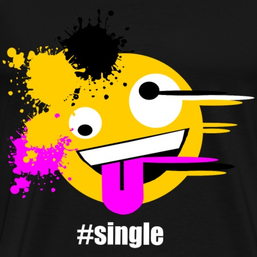 Emoji Art #single - Männer Premium T-Shirt