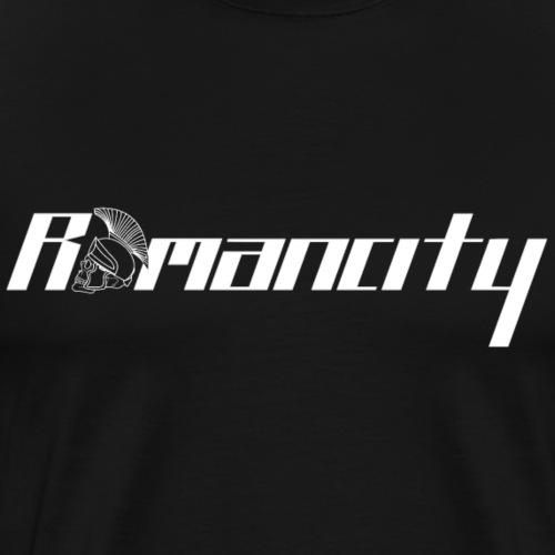 Romancity Logo White - Men's Premium T-Shirt