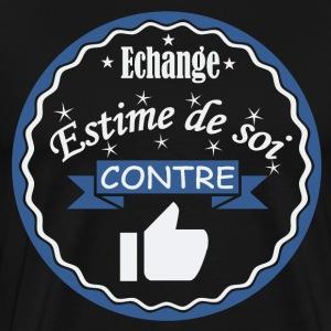 Echange estime de soi contre quelques likes - T-shirt Premium Homme