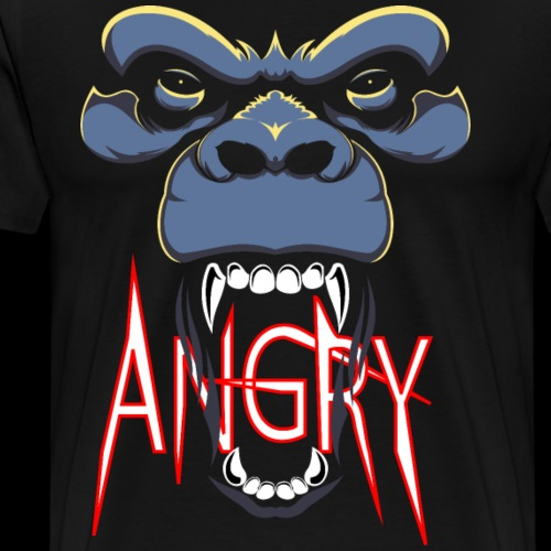 Angry Monkey - T-shirt Premium Homme