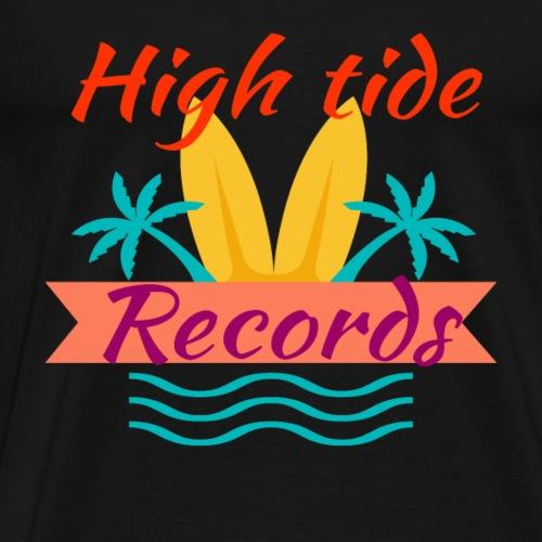 High Tide Records - Men's Premium T-Shirt
