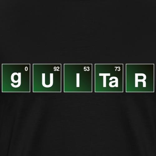 Guitar Bad Periodensystem Gitarre Shirt - Men's Premium T-Shirt