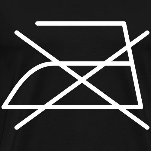 Nicht bügeln! - Männer Premium T-Shirt