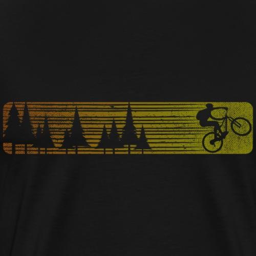 Mountainbike Fahrrad - Männer Premium T-Shirt