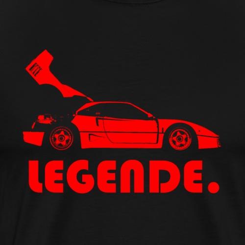 Legende. rot - Männer Premium T-Shirt