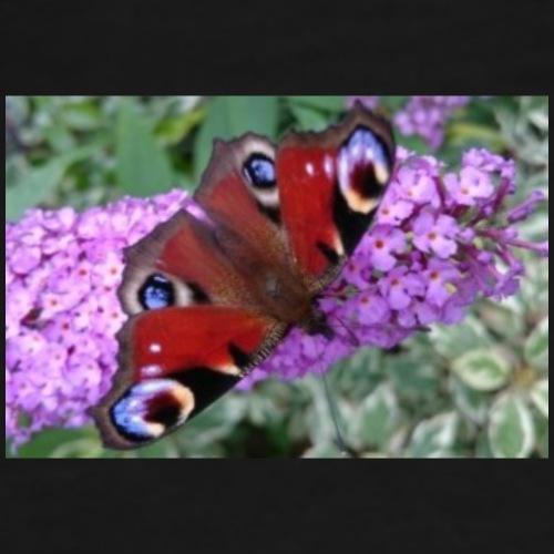 Schmetterling auf Flieder - Männer Premium T-Shirt