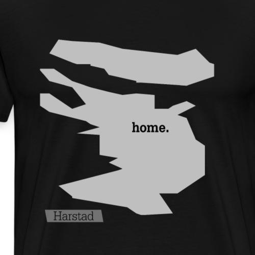Hjemby Harstad - Premium T-skjorte for menn