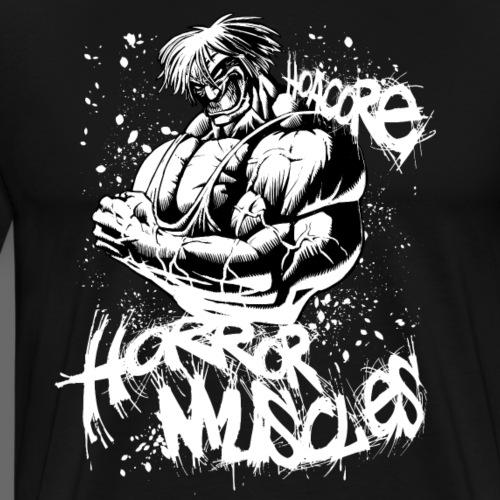 Hoacore - Horror Muscle black - Männer Premium T-Shirt