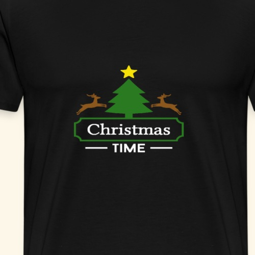 Weihnachtspullover - Männer Premium T-Shirt