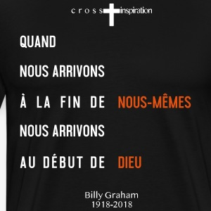 Billy Graham 1918 2018 - T-shirt Premium Homme