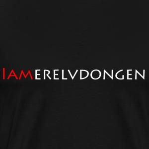 Merel van Dongen   White - Mannen Premium T-shirt