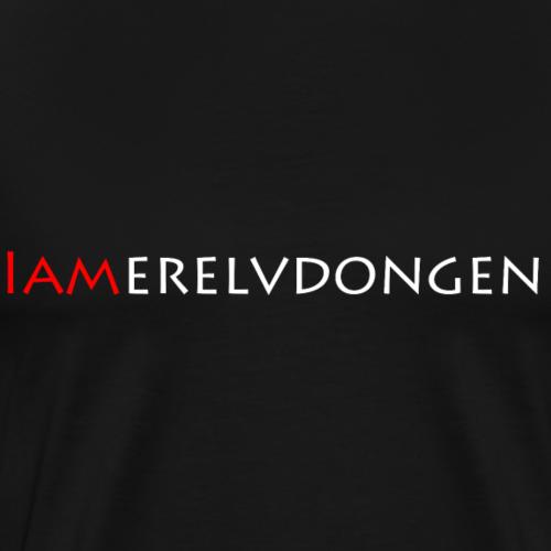 Merel van Dongen | White - Mannen Premium T-shirt