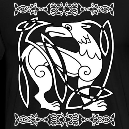 Keltischer Greif - Männer Premium T-Shirt