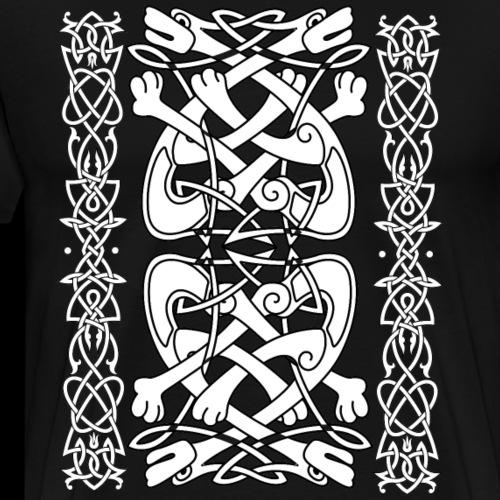 Keltische Hunde - Männer Premium T-Shirt