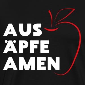 Aus Äpfe Amen. - Bayuwarium Gwand - Männer Premium T-Shirt