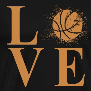 I LOVE BASKETBALL! - Men's Premium T-Shirt