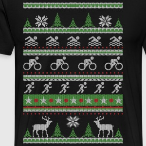 Triathlon fula jul - Premium-T-shirt herr