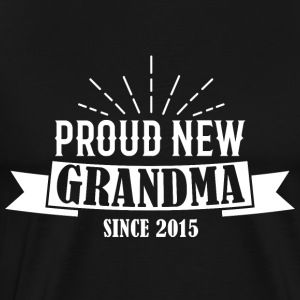 Grandma since 2015 Gift - Men's Premium T-Shirt