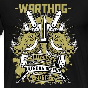 Warthog defender - Männer Premium T-Shirt