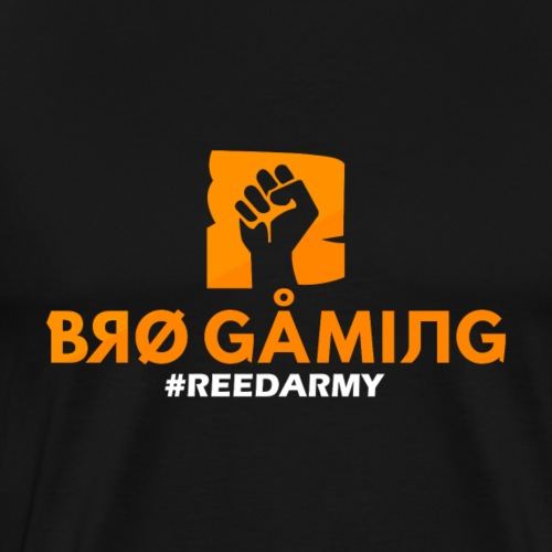 BRO GAMING #REEDARMY - T-shirt Premium Homme