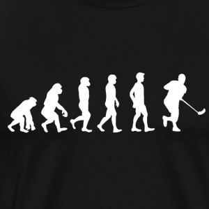 Floorball evolutie - Mannen Premium T-shirt