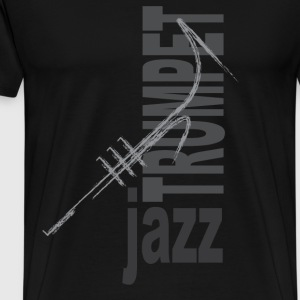 Jazz Trumpet - Men's Premium T-Shirt
