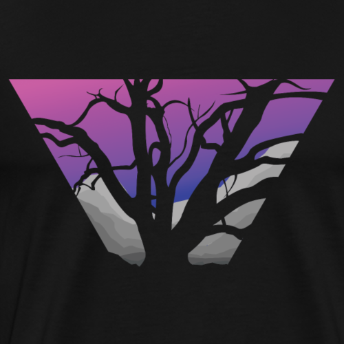 Purple Branches - Men's Premium T-Shirt
