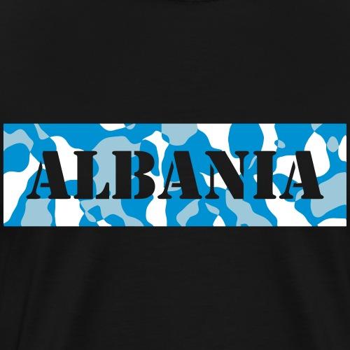 ALBANIA / ALBANIEN - CAMO / CAMOUFLAGE - Männer Premium T-Shirt