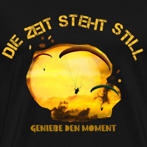 Fallschirmfliegen Geschenk - Männer Premium T-Shirt