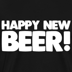 Happy New Beer! - T-shirt Premium Homme