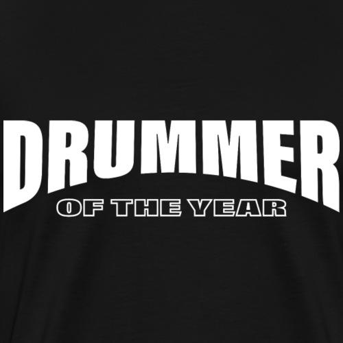Schlagzeuger Schlagzeug Drummer of the year - Männer Premium T-Shirt