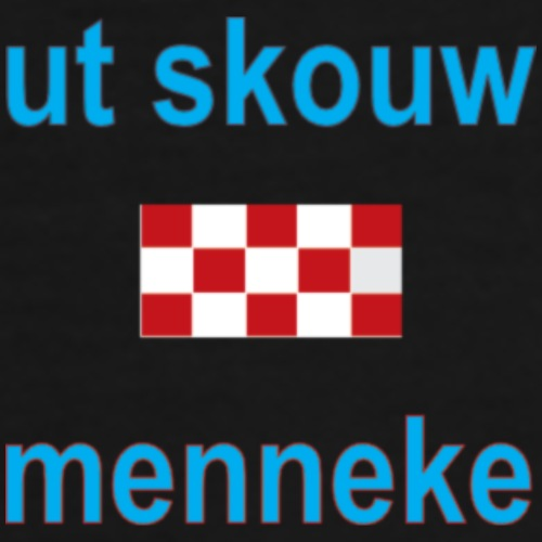 Ut Skouw Menneke Vertic - Mannen Premium T-shirt