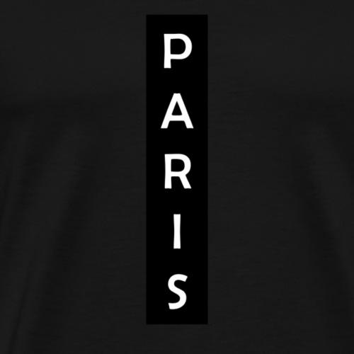 Paris Vertical - Maglietta Premium da uomo