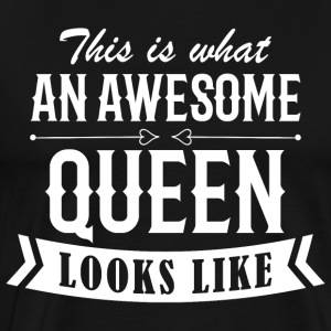 Awesome Queen - Männer Premium T-Shirt