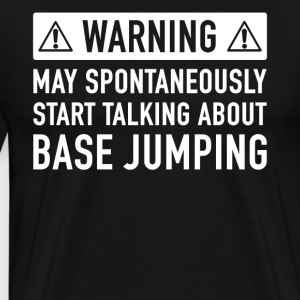 Funny Base Jumping Gift Idea - Men's Premium T-Shirt