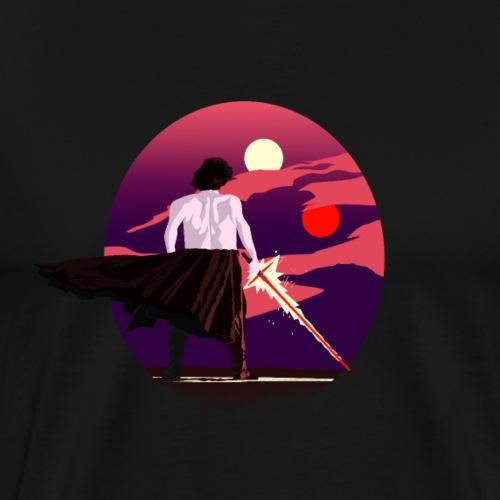 Sunset Ren - Camiseta premium hombre