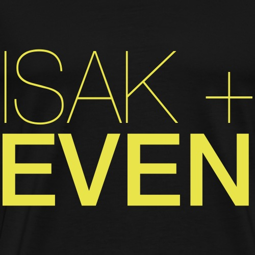 ISAK + EVEN - Premium-T-shirt herr