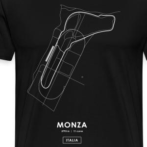 CIRCUITO MONZA - ITALIA - Maglietta Premium da uomo